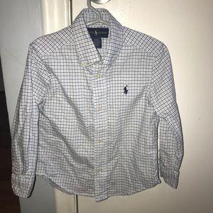 Ralph Lauren Boys Button up Dress Shirt